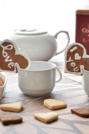 Biscotti San Valentino senza glutine