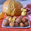 Frittelle dolci alla zucca senza glutine, facili e veloci. Con e senza Bimby.