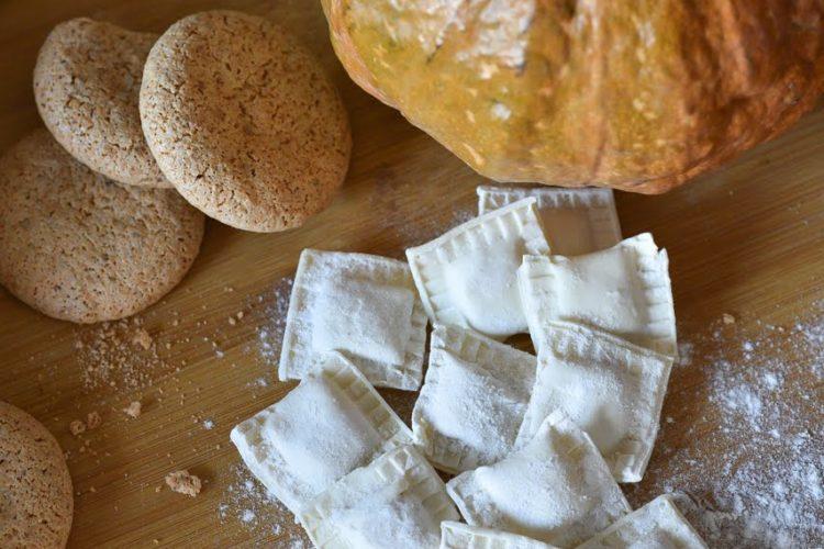 Tortelli alla zucca e amaretti senza glutine