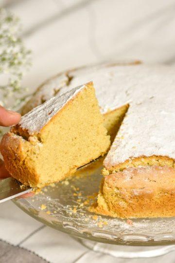 Torta farina di castagne senza glutine