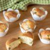 Muffin salati senza glutine fave e pecorino