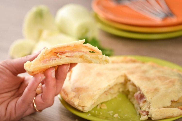 Torta salata senza glutine ai finocchi