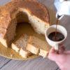 Ciambella al caffè senza glutine