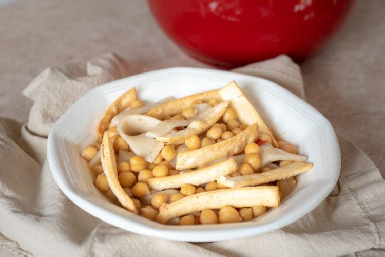 ciceri e trie senza glutine