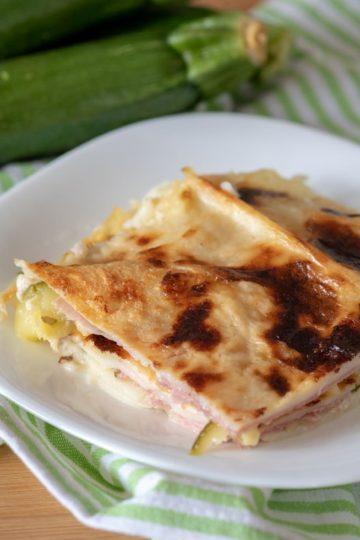 Lasagne alle zucchine senza glutine